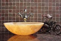 Onyx Marble Wash Basin