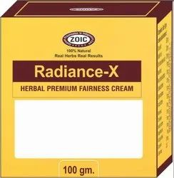Radiance-X Herbal Premium Fairness Cream, For Personal, Packaging Size: 100 Gm