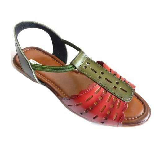 Women Ladies Casual Leather Sandal, Rs