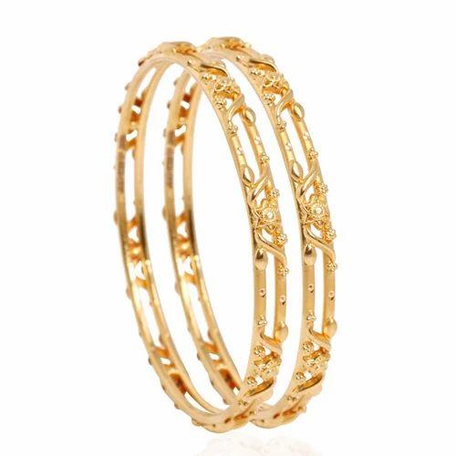 ladies gold bangles at rs 70000 pair gold bangles