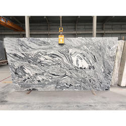 Viscon White Granite Slab, 10-15 Mm, 15-20 Mm, 20-25 Mm, >25 Mm, 20, 30, 40, 50, 60, 80, 100mm