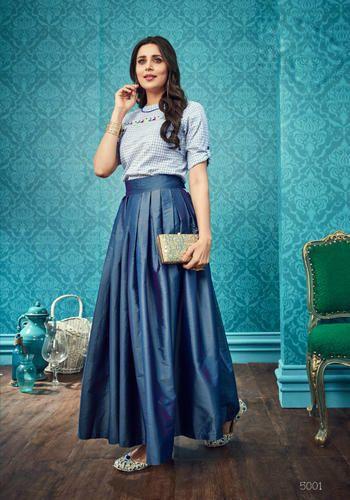 080c07b783 Chiffon Trendy Western Wear Top & Skirt, Rs 995 /piece, Saree ...