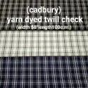 CADBURY (yarn Dyed Twill Check)