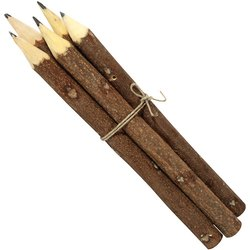Black Wood Jaipur Eco Friendly Neem Pencils Handmade Product Corporate Gifts, For Writing, Packaging Size: 600 Pieces Box