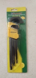 Extra Long Ball Point Hex Key Wrench Set