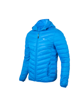 28a923455 Men Packable Hooded Extra Warm Down Jacket Blue