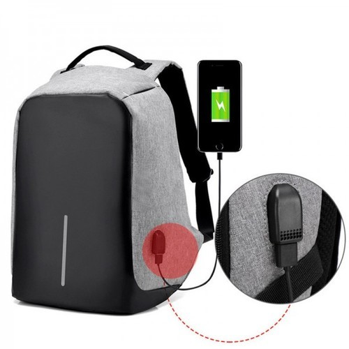 74b4204581f1 Anti Theft Laptop Backpack Bag With Usb Charging Point