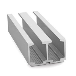 Aluminium Double Sliding Door Tracks