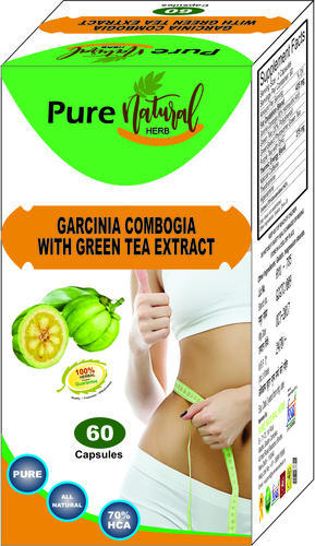 Weight Loss Capsules Garcinia Cambogia With Green Tea Extract