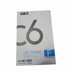 36 W H4 C6 LED Headlight Bulb, 12 V
