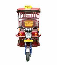 Easy Way Base Model Battery Operated Rickshaw, Vehicle Capacity: 5 Seater, Model Name/Number: Super