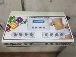 8 Channels LCD Body Shaping System