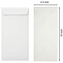 White Envelope 10 x 4.5 Inch