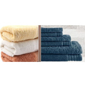 Mauria Bamboo Cotton Towels, Size: 70 X 140 Cm