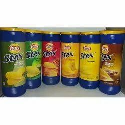 Fried 300g Lays Stax Potato Chips, Box