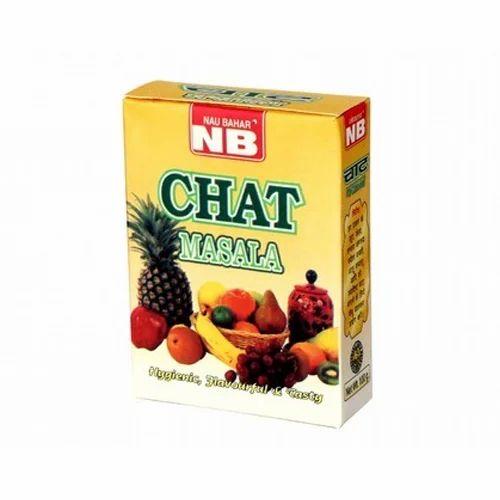 Fruit Chaat Masala, चाट मसाला