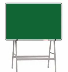 Green Ceramic Chalk Writing Board With 4 Leg Stand