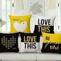 Knitting Cushion Cover