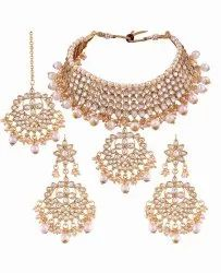 Alloy Necklace Sets Artificial Jewellery, Size: Free
