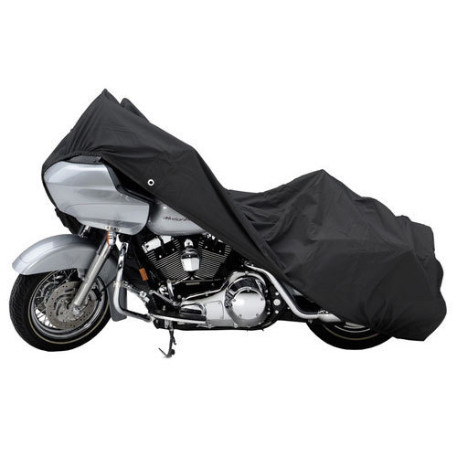 Black Polyester Bike Covers