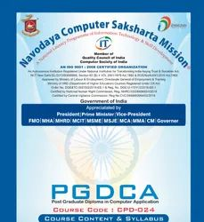 Post Graduate Diploma In Computer Application (P.G.D.C.A.)