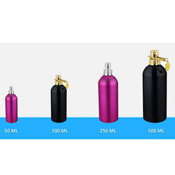 Aluminum Screw Can Bottle With Pump