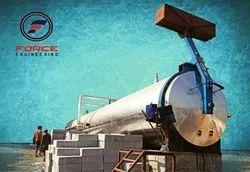 Lightweight AAC Block plant