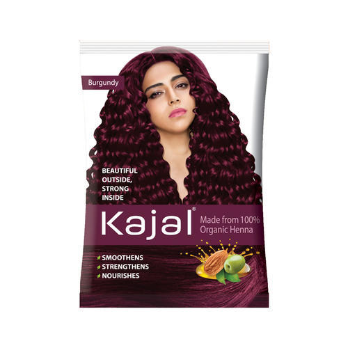 Kajal Burgundy Hair Henna Pack Size 120gm Rs 80 Piece Id