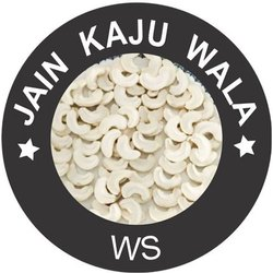 White WS Cashew Nuts, Grade: WW 2 PCS