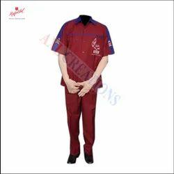 Cotton HPCL Readymade Gas Staff Uniform, Size: Large