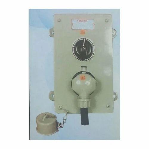 Ajmera Interlocked Weatherproof Switch Socket  Rs 3500