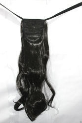 Synthetic Black Hair  With Clip