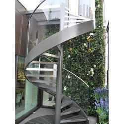 Stainless Steel Spiral Stair