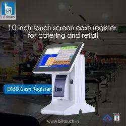 10inch Touch Screen Cash Register E86D Billtouch Cash Register Machine, Warranty: 1 Year