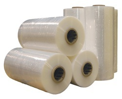 White Plain Plastic Packaging Rolls