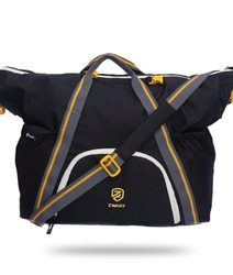 Black And Yellow Duffle Gym Bag