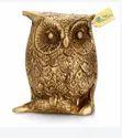 Owl Brass Home Decorative Show Piece