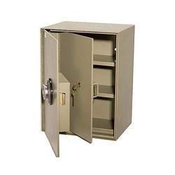 Gray Stainless Steel Security Locker