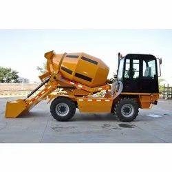 Diesel Engine Powerol Self Loading Concrete Mixer 2 Cum