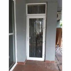 Hinged Lever Handle UPVC Glass Door, 5-20 Mm