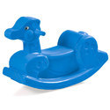 Plastic Blue Ducky Ride On Toy
