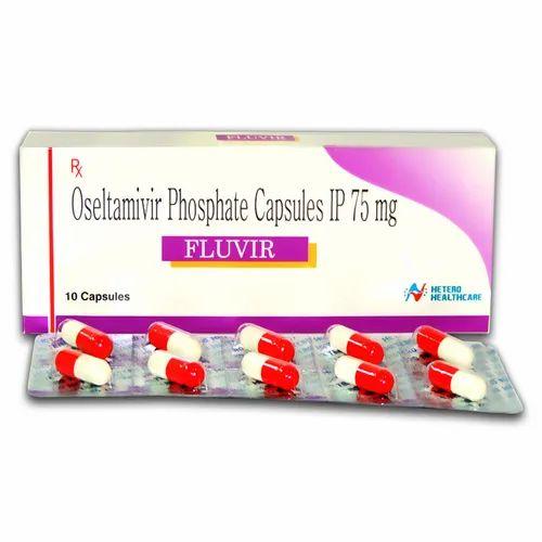 Fluvir 75mg Capsules at Rs 10/strip | Oseltamivir Phosphate, ओसेल्टामिविर -  S G Overseas, Surat | ID: 21868837855