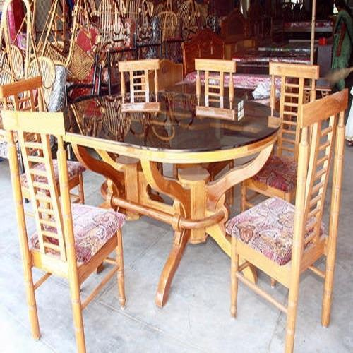 Admirable Glass Top Wooden Dining Table Set Download Free Architecture Designs Scobabritishbridgeorg
