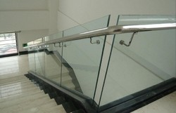 Toughened Glass Handrails