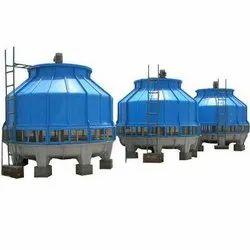 Three Phase Round Fiberglass Cooling Tower
