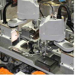 iMatics Mild Steel Scara Robot Automation Machine, For Assembly, Fully Automatic