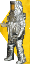Fire Entry Suit Aluminized