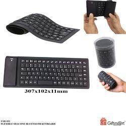 Black Giftmart Foldable Bluetooth Keyboard