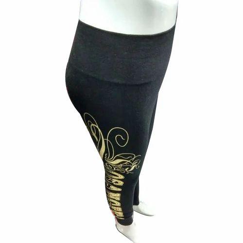 f224bfe2f23e Black, Yellow Casual Wear Ladies Printed Legging, Size: XL, XXL, Rs ...