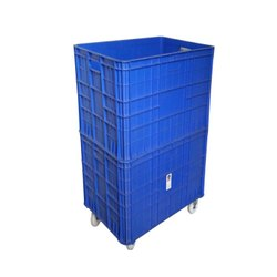 857425 Double Height Wheel Crate